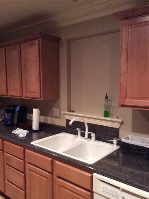 no window kitchen sink ideas kitchen sink with no window it 8964
