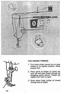 Singer 416 Sewing Machine Threading Diagram