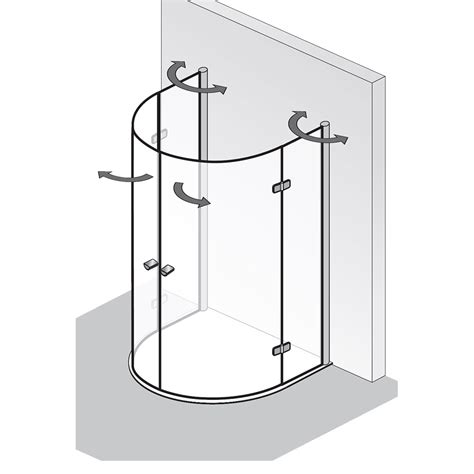 3 Seiten Duschkabine by Duschkabine 3 Seiten Kunststoff Duschkabine Kunststoff 3