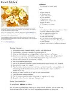 Pancit Palabok Recipe Filipino