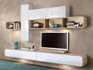 Etagere Pour Tv : les 25 meilleures id es de la cat gorie tag res murales pour tv sur pinterest meuble tv ~ Teatrodelosmanantiales.com Idées de Décoration