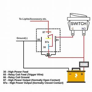 Alarm Relay Wiring Diagram