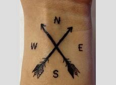 Tatouage Fleche Avec Boussole Signification Tattoo Art