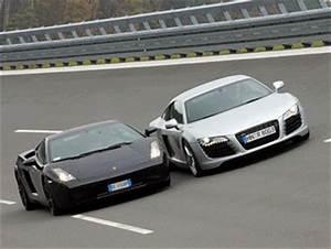 Audi R8 Fiche Technique : audi r8 vs lamborghini gallardo le skyblog des l 39 automobiles sportives et ~ Maxctalentgroup.com Avis de Voitures