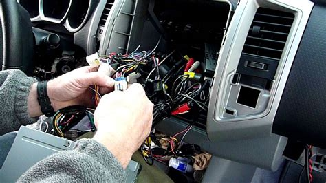 part  toyota tacoma radio dash kit  wiring