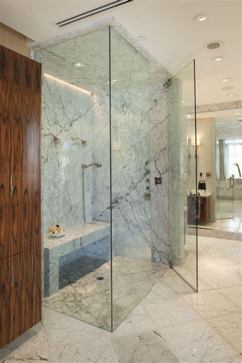 onyx marble  granite   steam shower