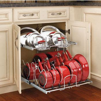 storage for pots and pans in the kitchen cabinet organizers kitchen cabinet organizers by hafele 9899