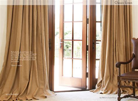 solid linen custom drapes mediterranean curtains