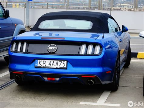 Ford Mustang Convertible 2015 by Ford Mustang Gt Convertible 2015 21 October 2017