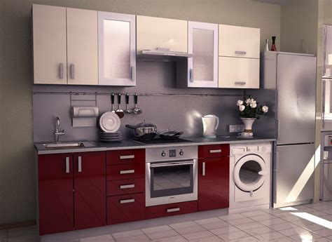 kitchen furniture com modular kitchen at factory price
