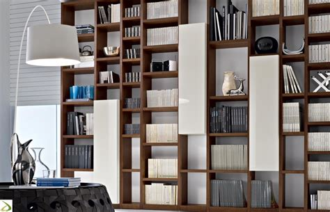 Libreria moderna in legno Booki Arredo Design Online