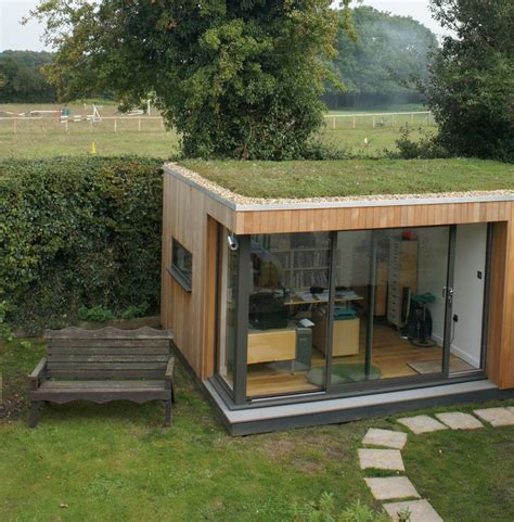 Garden Room With Living Roof by This Client His Garden Room Sedum Roof So Much He