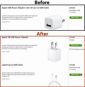 Apple Jacks Up Iphone 5 Replacement Charger Price By  9