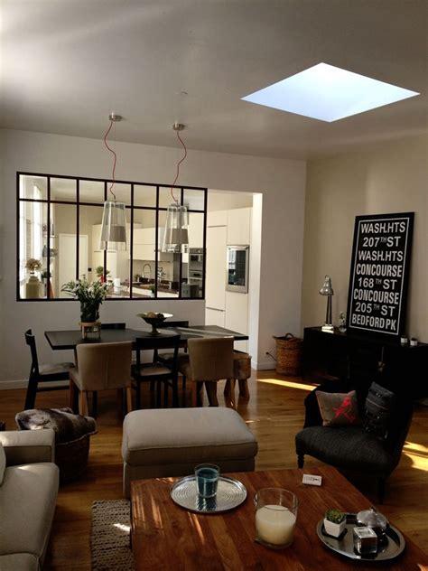 cuisine vitr馥 atelier separation cuisine style atelier maison design bahbe com