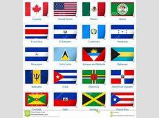 Sticker Flags America Royalty Free Stock Photos Image