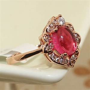unique design women big flower rings fashion vintage rose With persian wedding rings