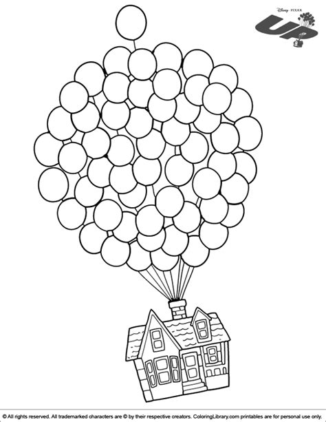 up coloring pages to and print for free