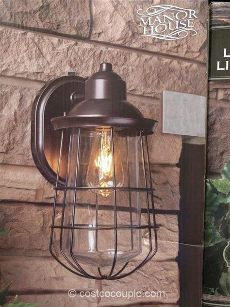 manor house vintage led coach light costco patio
