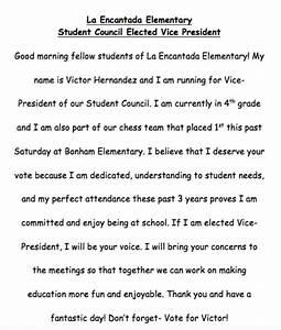 a good student council speech