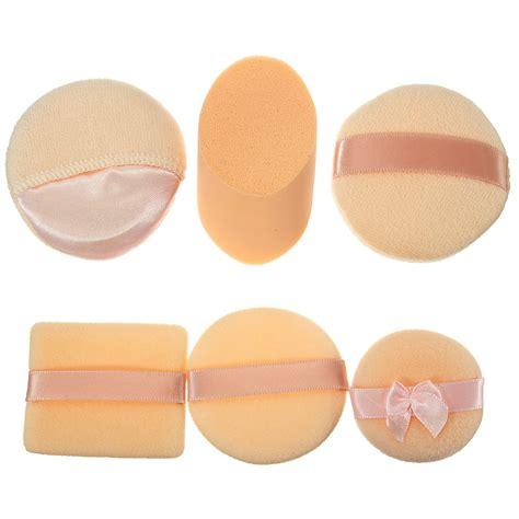 buy 3pcs cosmetic soft makeup sponge powder puffs