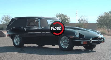 This Jaguar E-type Hearse Is The Perfect Halloween Car