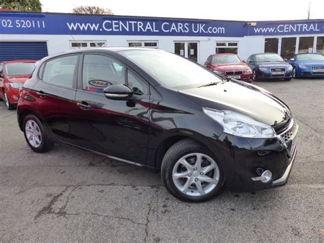 peugeot automatic diesel cars for sale peugeot 208 1 4 e hdi active turbo diesel automatic for