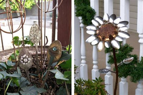 diy outdoor decorations yard diy recycled outdoor decor outdoortheme com