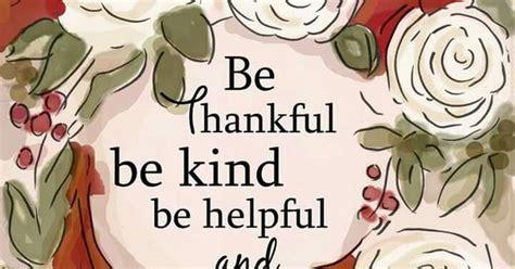 thankful  kind  helpful  happy thanksgiving