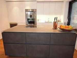 tolle arbeitsplatte kuche edelstahl modern kueche 20700 With edelstahl arbeitsplatte küche