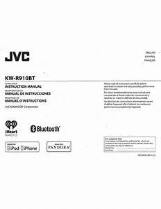 Jvc Kw-r910bt Instruction Manual