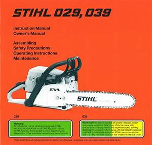Stihl 029 Parts List Diagram