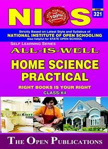 Nios Practical Manual Home Science 321 Help Book In