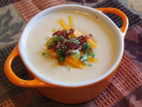 soup ingredients loaded potato soup recipe culicurious