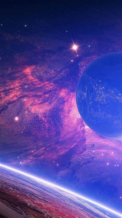 Space Resolution Android Wallpapers Screen Universe Backgrounds
