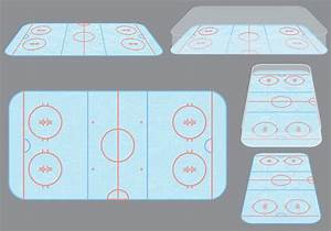 Ice Hockey Rink Vectors