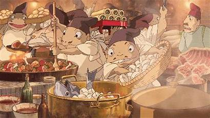 Ghibli Gifs Studio Hungry