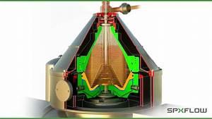 SPX FLOW Seital Separation 3D Separator Animation - YouTube