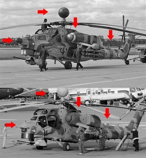 Russian Mi-28n/nm/ub Night Hunter Attack Helicopter