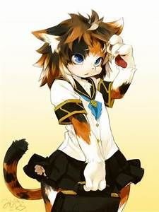 Art #D_R_A_W Anime, furry, cat. | Furry and Animals ...