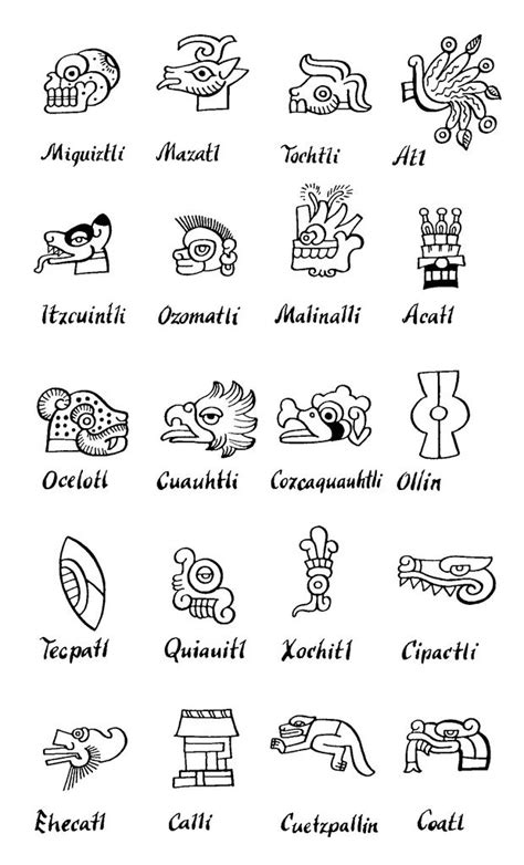 mesoamerican glyph legend indian cross