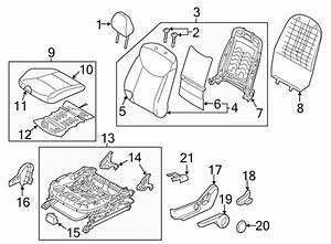2015 Hyundai Elantra Seat Cushion Htr  Seat Heater Pad