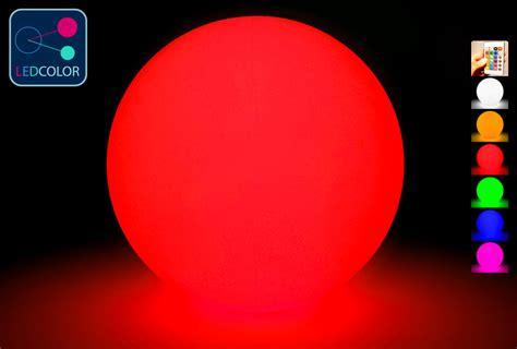 boule lumineuse led multicolore sans fil 40 cm 60