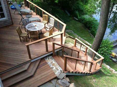 viewing deck design deck design ideas don t block the view st louis decks screened porches pergolas by archadeck
