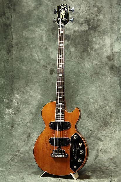 gibson usa   vintage les paul triumph bass cites