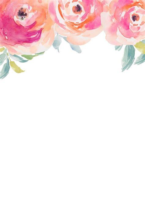 stripes sweets friday freebie blank floral invitation