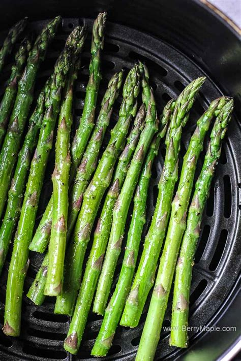 air fryer asparagus roasted recipes