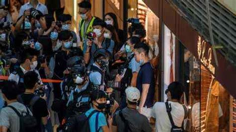 Johnson condemns HK law as breach of handover pact ...