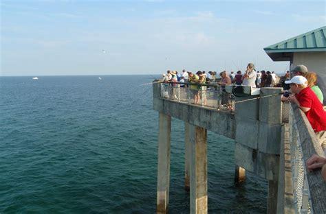 fishing piers pier destin fish saltwater area