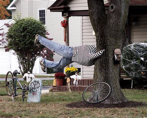 15 Diy Halloween Yard Decorations