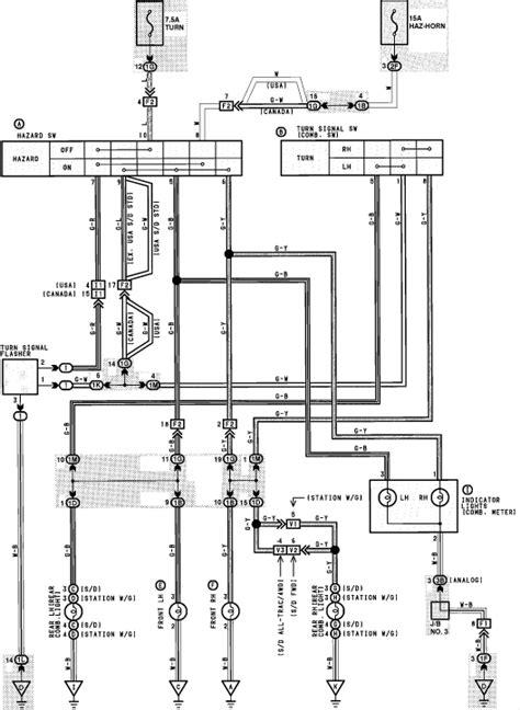 1990 Camry Radio Wiring by 1990 Toyota Camry Wiring Diagram Hazard 39 Wiring